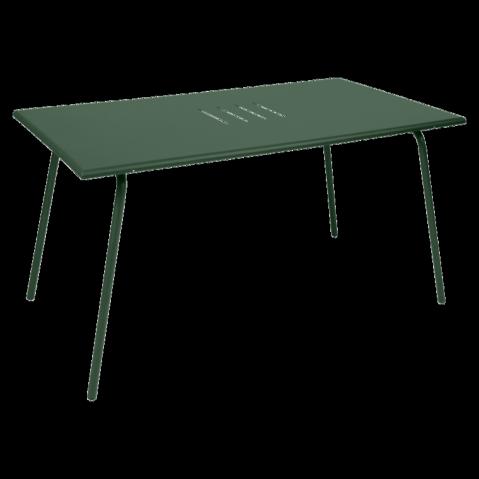 Table haute MONCEAU de Fermob, 146x80x74, Cèdre