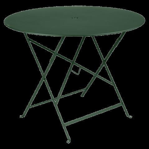 Table ronde pliante BISTRO de Fermob D.96 x H.74 cm Cèdre