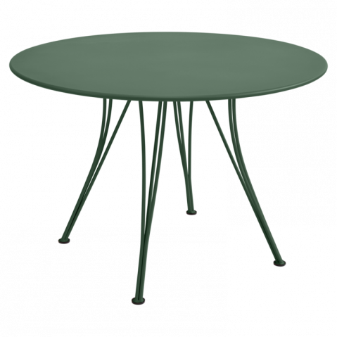 Table ronde RENDEZ-VOUS de Fermob cèdre