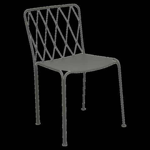 Chaise KINTBURY de Fermob, Romarin