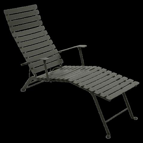 Chaise longue pliante BISTRO de Fermob, Romarin
