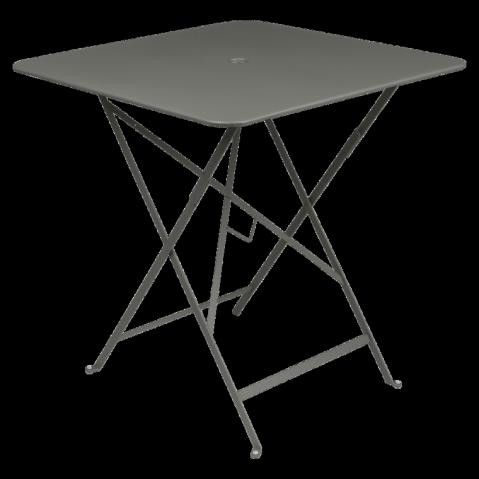 Table carrée BISTRO 71x71 Romarin de Fermob