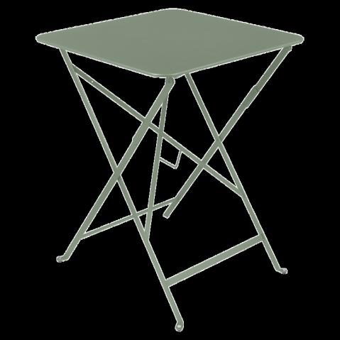 Table carrée BISTRO de Fermob, 57x57, Cactus