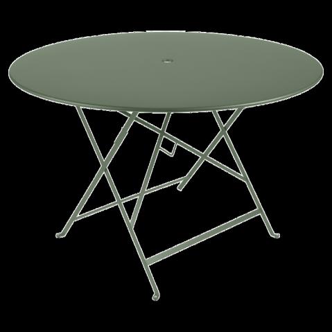 Table ronde pliante BISTRO de Fermob D.117 x H.74 cm Cactus