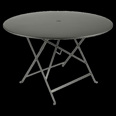 Table ronde pliante BISTRO de Fermob D.117 x H.74 cm Romarin