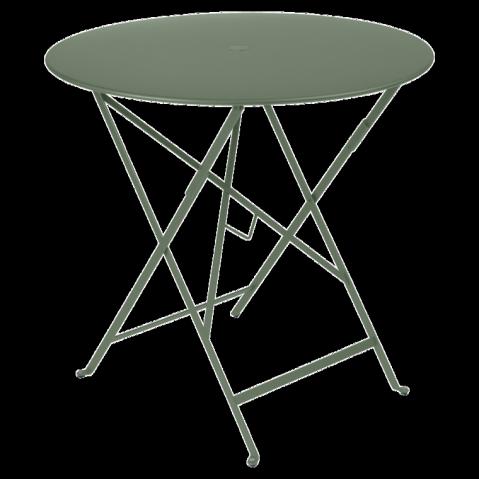 Table ronde pliante BISTRO de Fermob D.77 x H.74 cm Cactus
