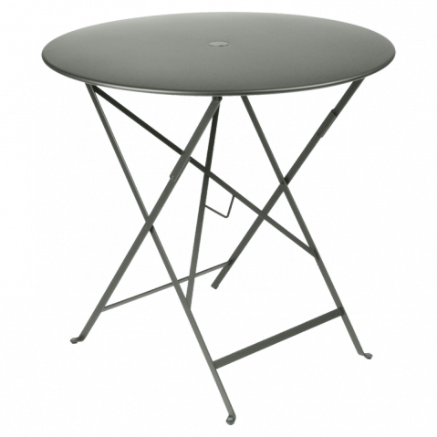 Table ronde pliante BISTRO de Fermob D.77 x H.74 cm Romarin
