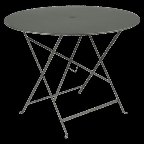 Table ronde pliante BISTRO de Fermob D.96 x H.74 cm Romarin