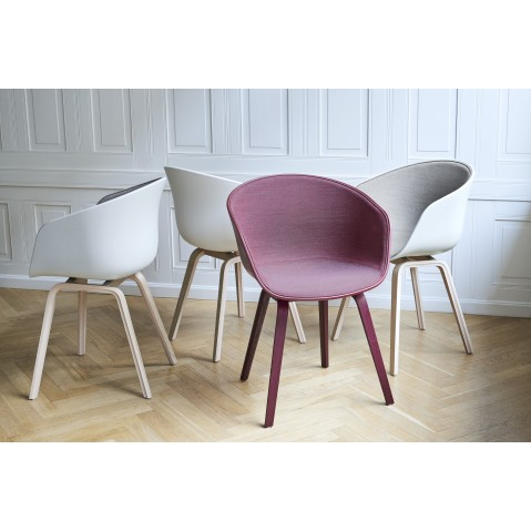 Chaise Hay. Good Chaise Hay Neu Bordeaux Et Bois With Chaise Hay ...