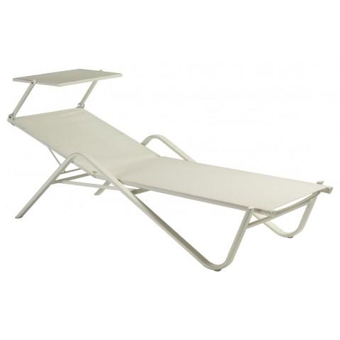 lit de piscine holly de emu avec pare soleil. Black Bedroom Furniture Sets. Home Design Ideas