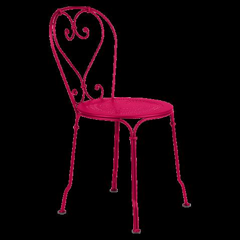 Chaise 1900 de Fermob, Rose praline