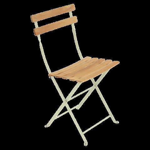 Chaise BISTRO NATUREL bois de Fermob, tilleul