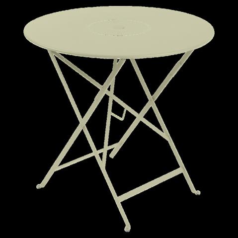 Table pliante FLORÉAL de Fermob D.77 tilleul