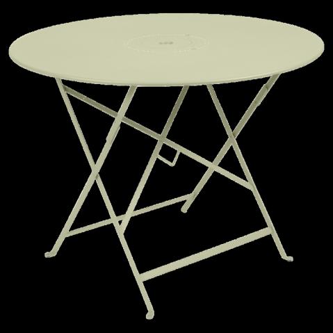 Table pliante FLORÉAL de Fermob D.96 tilleul