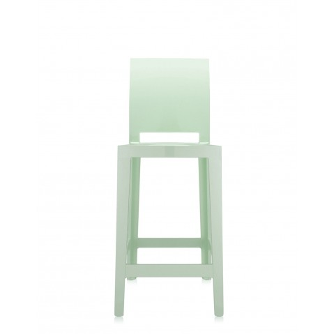 Tabouret ONE MORE PLEASE de Kartell, H. 75, Vert