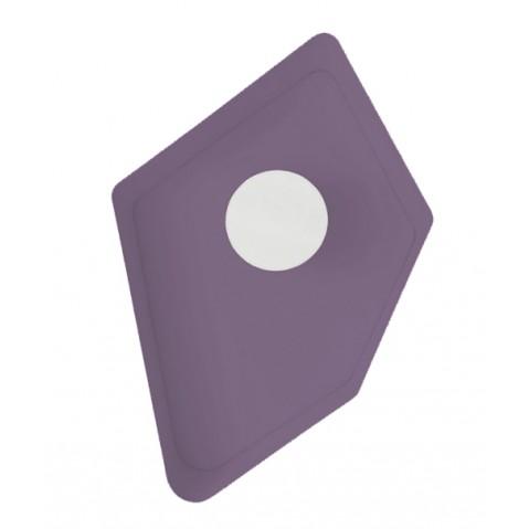 Applique GRAND NENUPHAR de Designheure, Beige/Mauve fil gris