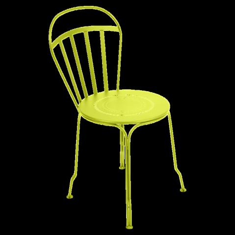 Chaise LOUVRE de Fermob verveine