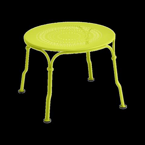 Table basse 1900 de Fermob, Verveine