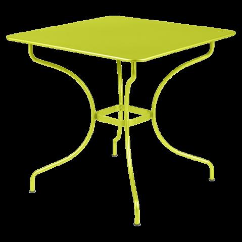 Table carrée OPÉRA de Fermob verveine