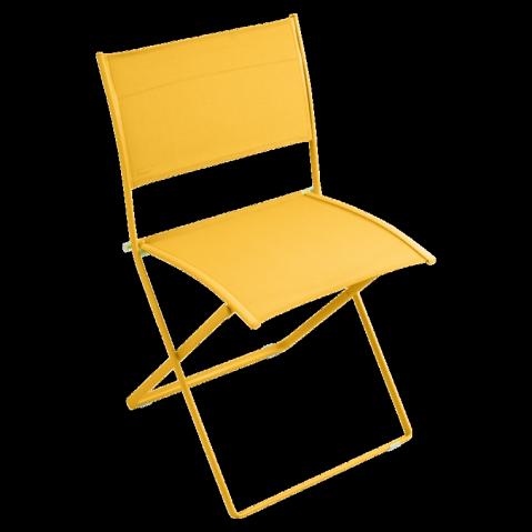Chaise pliante PLEIN AIR de Fermob, Miel
