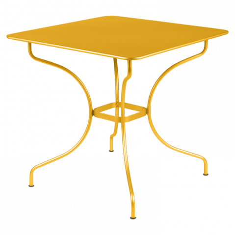 Table carrée OPÉRA de Fermob, Miel