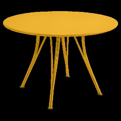 Table ronde RENDEZ-VOUS de Fermob, Miel
