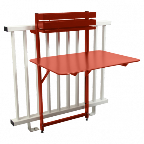 Table balcon BISTRO de Fermob, Paprika