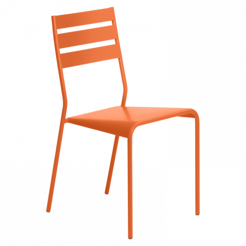 Chaise FACTO de Fermob carotte