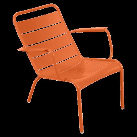 Lounger LUXEMBOURG de Fermob carotte