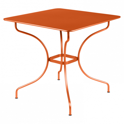 Table carrée OPÉRA de Fermob carotte