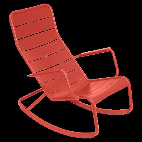 Rocking chair LUXEMBOURG de Fermob, Capucine