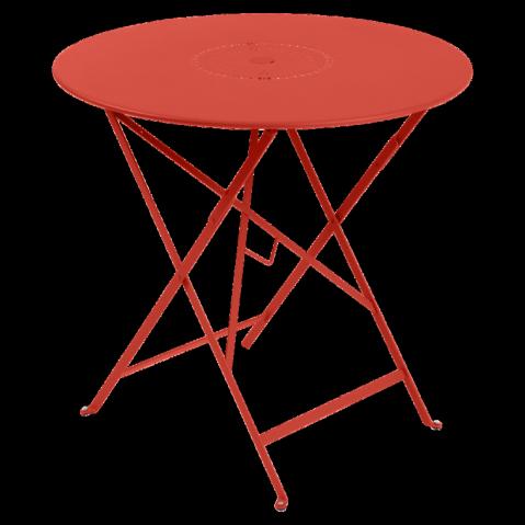 Table pliante FLORÉAL de Fermob D.96 Capucine