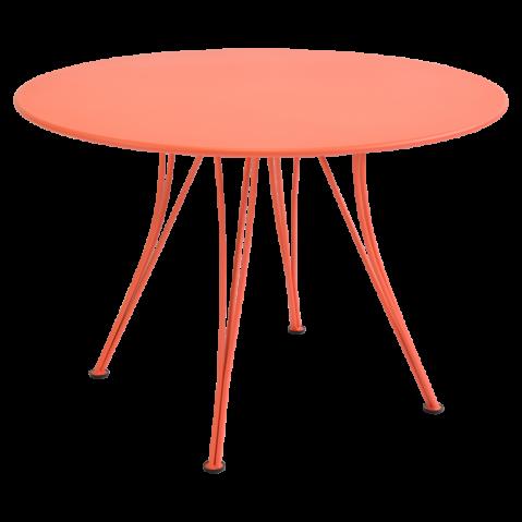 Table ronde RENDEZ-VOUS de Fermob, Capucine