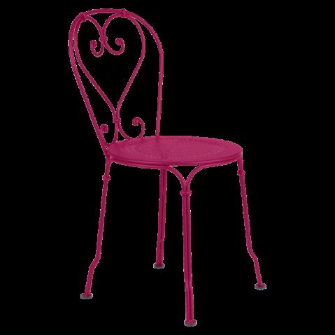 Chaise 1900 de Fermob, Fuchsia