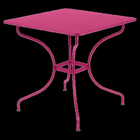 Table carrée OPÉRA de Fermob, 23 coloris