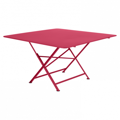 Table pliante CARGO de Fermob, Rose praline