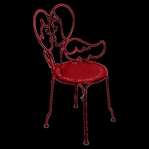 Chaise ANGE de Fermob coquelicot