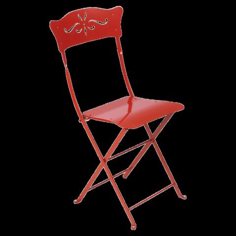 Chaise BAGATELLE de Fermob coquelicot