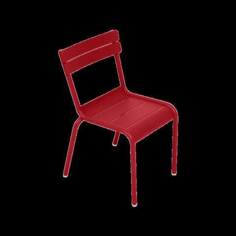 Chaise Enfant LUXEMBOURG KID de Fermob coquelicot