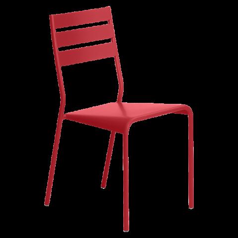 Chaise FACTO de Fermob coquelicot