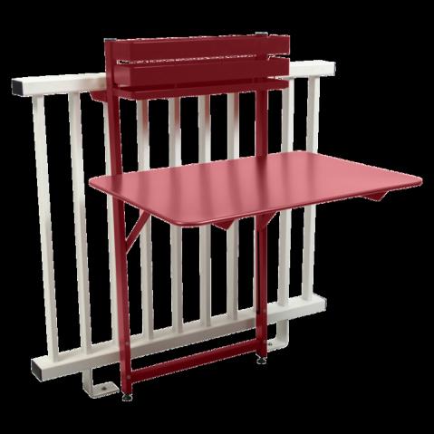 Table balcon BISTRO de Fermob, Piment