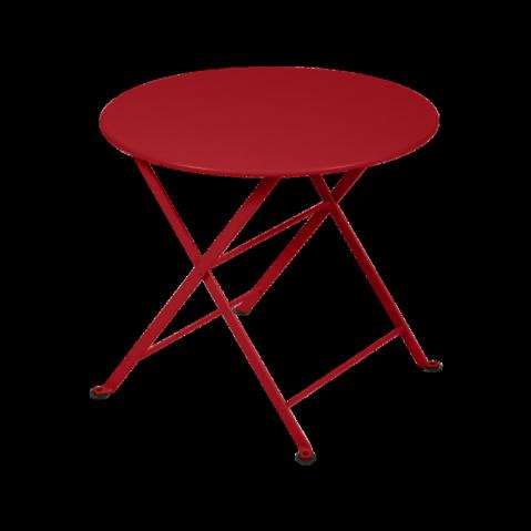 Table basse Enfant TOM POUCE de Fermob coquelicot