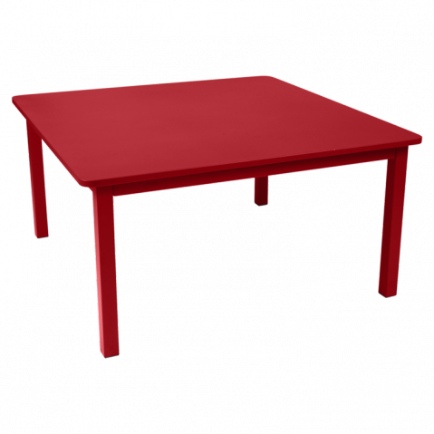 Table CRAFT de Fermob coquelicot