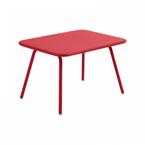 Table Enfant LUXEMBOURG KID de Fermob coquelicot