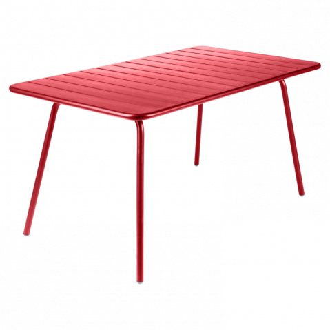 Table LUXEMBOURG de Fermob coquelicot