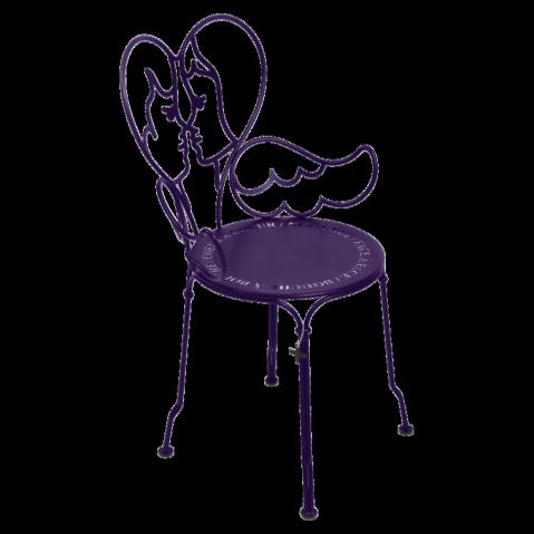 Chaise ANGE de Fermob aubergine