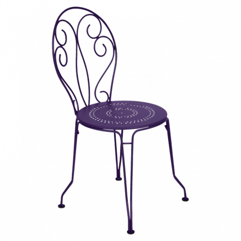 Chaise MONTMARTRE de Fermob aubergine
