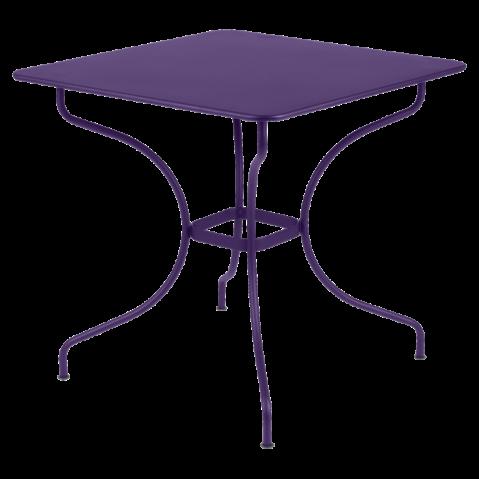 Table carrée OPÉRA de Fermob aubergine