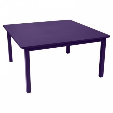 Table CRAFT de Fermob aubergine