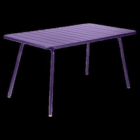 Table LUXEMBOURG de Fermob, Aubergine